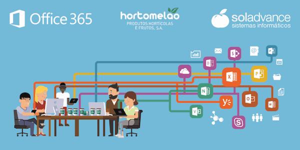 Soladvance migra a plataforma de e-mail da Hortomelão para Office 365
