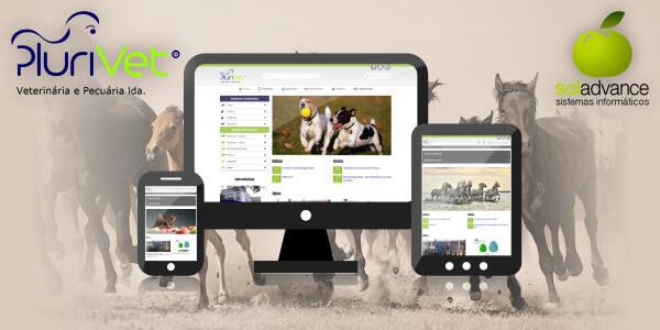 Soladvance renova website da Plurivet