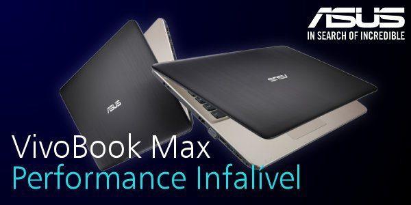Aproveite o desconto infalível do Portátil ASUS VivoBook Max F541NA e compre-o por apenas 375€! Só na SOLADVANCE.