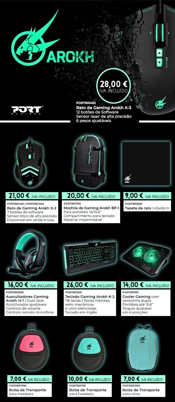 Compre as melhores soluções Gaming da PORT DESIGNS aos melhores preços!