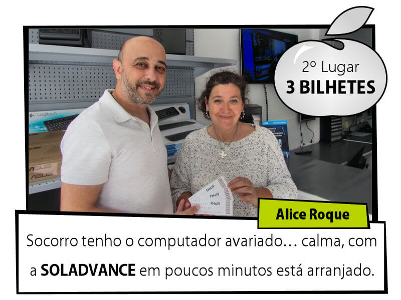 VAI À FEIRA COM A SOLADVANCE - 2º Lugar - Alice Roque