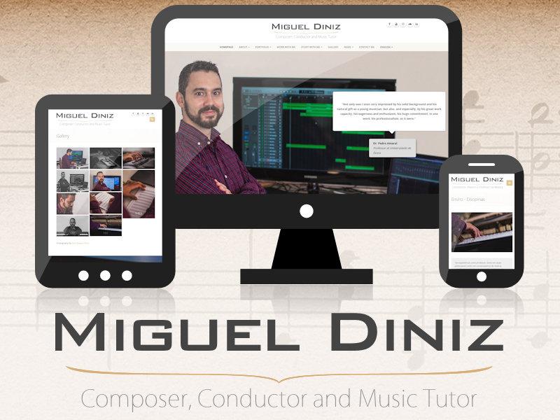 PORTFÓLIO - Miguel Diniz - Compositor, Maestro e Professor de Música